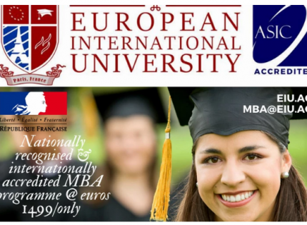 Ripe time for blockchain education, says European International University