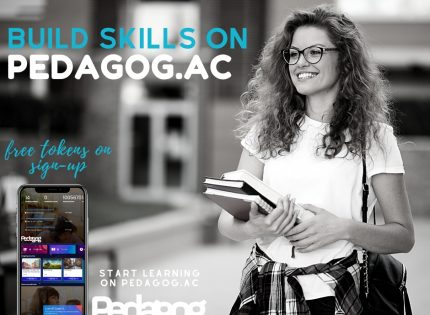 Get your institutions webpage on pedagog for free